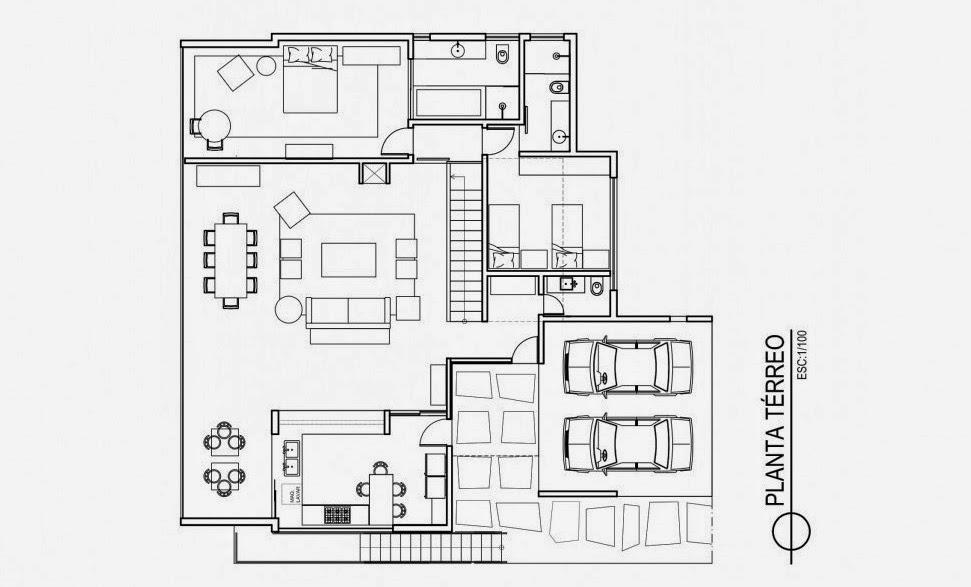 plano-casa-del-Lago-David-Guerra-Architecture