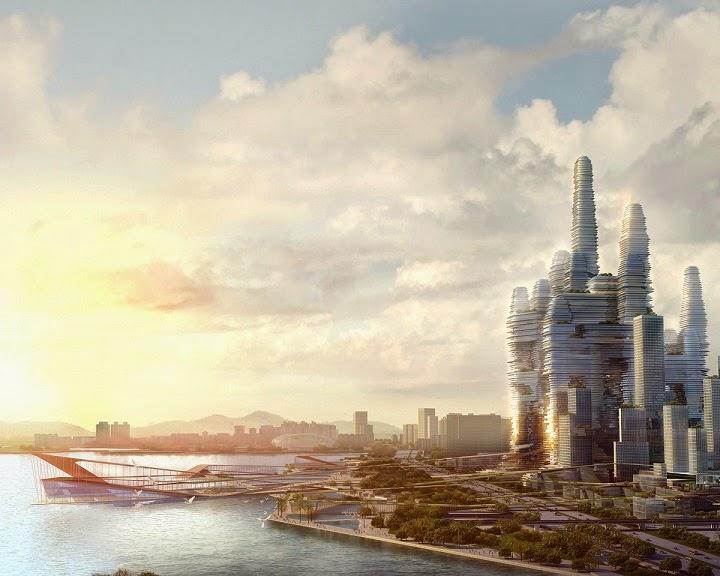 mega-proyecto-rascacielos-en-Shenzhen