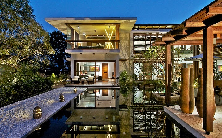 arquitectura-casa-Courtyard-India