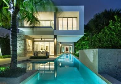 Casa de lujo Bahía Vizcaína en Miami, Florida.