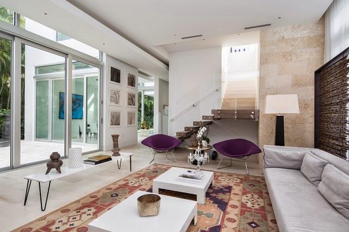 Interiores de casas de lujo en miami for Interiores de casas de lujo