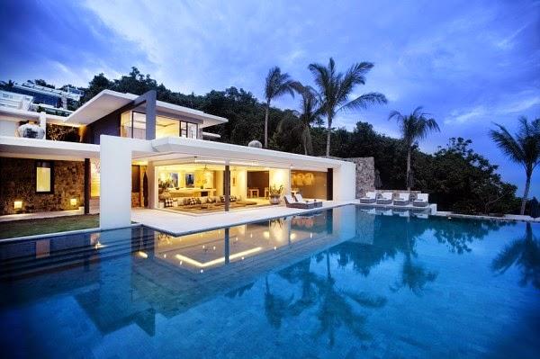 Villas de lujo en el Golfo de Tailandia