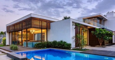 arquitectura-casa-con-piscina-Nueva-Delhi-India
