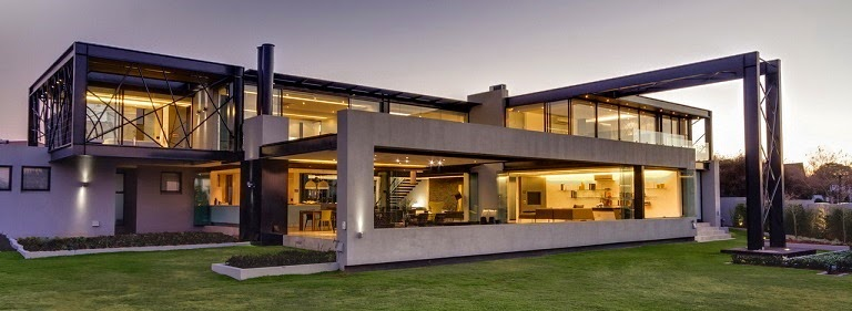 Casa ber dise o ultra moderno nico van der meulen - Casa ultramoderna ...