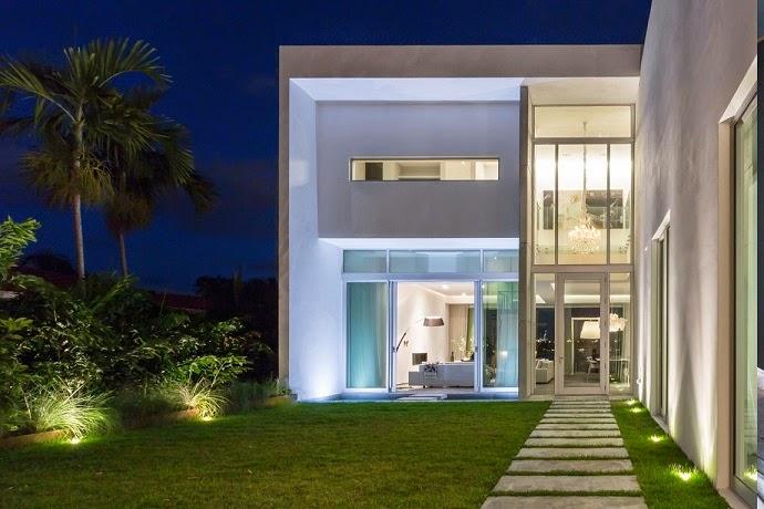 Casa contemporanea Peribere en Bahía-de-Vizcaína-Miami-Florida