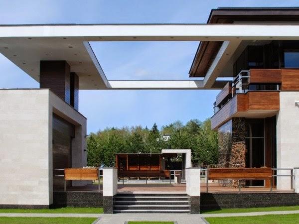 Casa s cuarta dimensi n arquitectos mosc rusia for Casa moderna 11