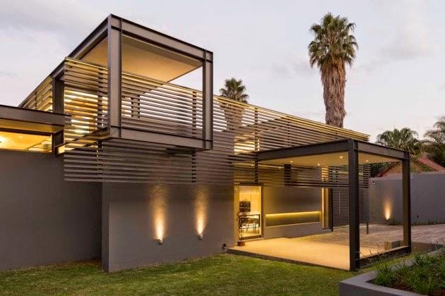 Casa de lujo en forma y fucnion por nico van der meulen - Casas modulares de lujo ...