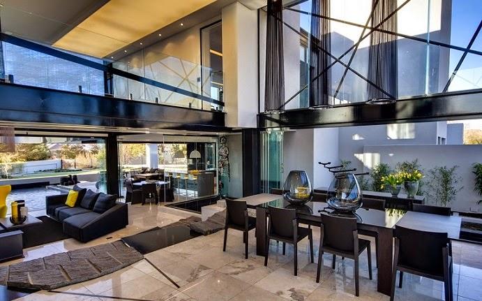 Casa ber dise o ultra moderno nico van der meulen - Estudios de diseno de interiores ...
