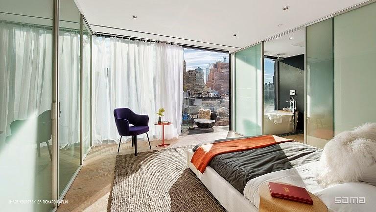 decoracion-habitacion-Ático-dúplex-Nueva-York