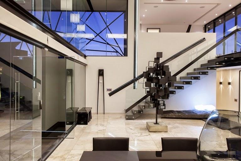 tipo diseo casa moderna estilo diseo nico and werner van der meulen ubicacin carlsworld midrand sudfrica