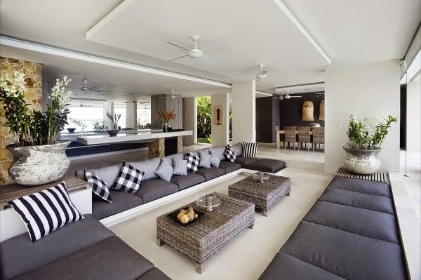 sala-decoracion-monocromatica-Villa-lujo-Tailandia