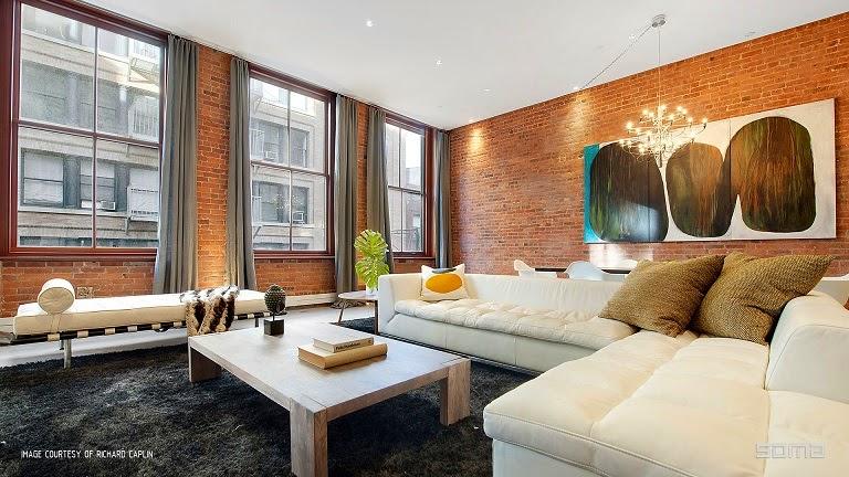 salon-decoracion-habitacion-Ático-dúplex-Nueva-York