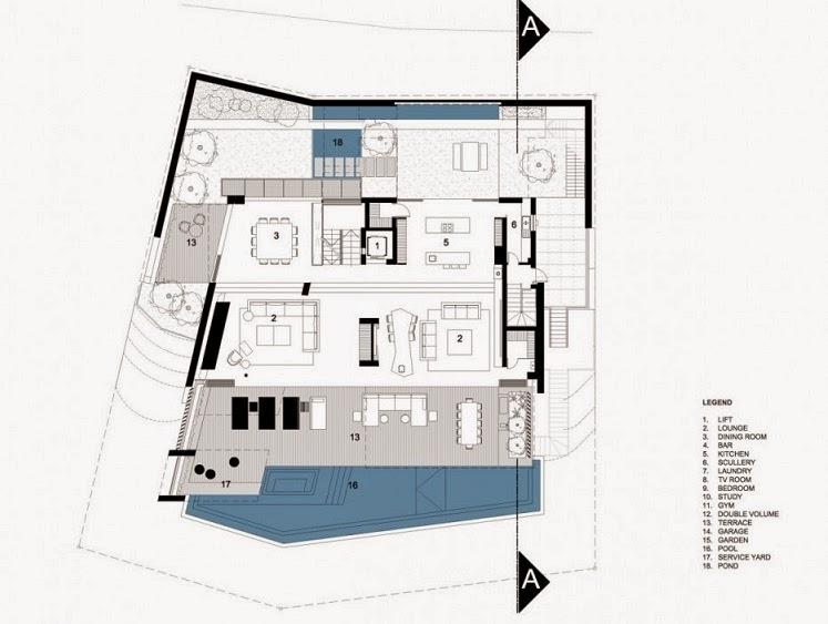 plano-casa-moderna-cinco-pisos