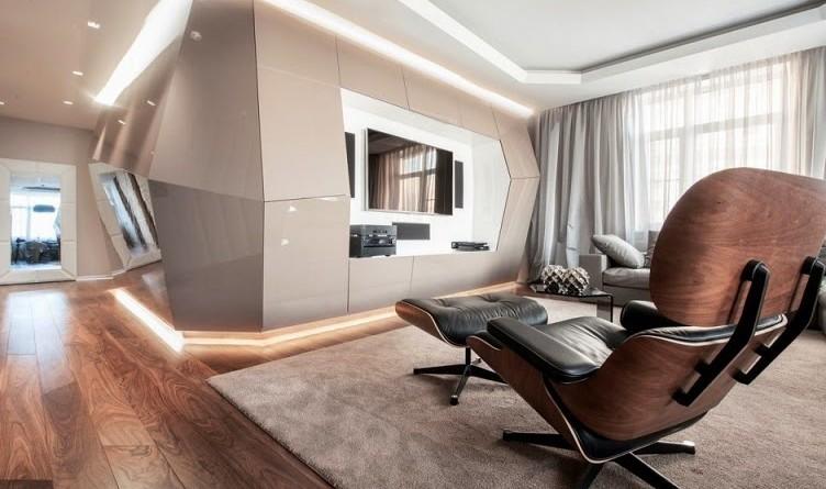 Apartamento vanguardista geometrix design mosc arquitexs for Carrera diseno de interiores xalapa