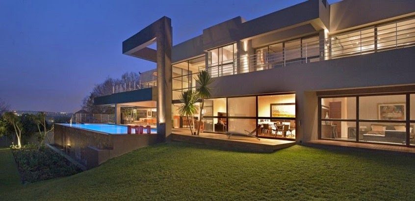 arquitectura-contemporánea-House in Bryanston