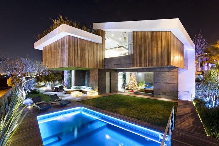 Residencia vista clara la vista country club puebla for Casa moderna grande planos