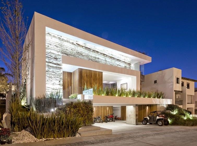 Residencia vista clara la vista country club puebla - Planos de casas modernas de lujo ...