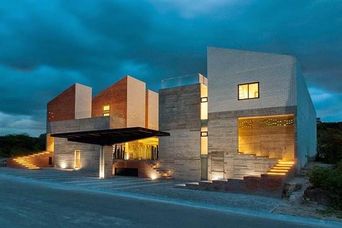 Datri y dasa casas dise adas por mavarq en m xico arquitexs for Casas modernas en mexico