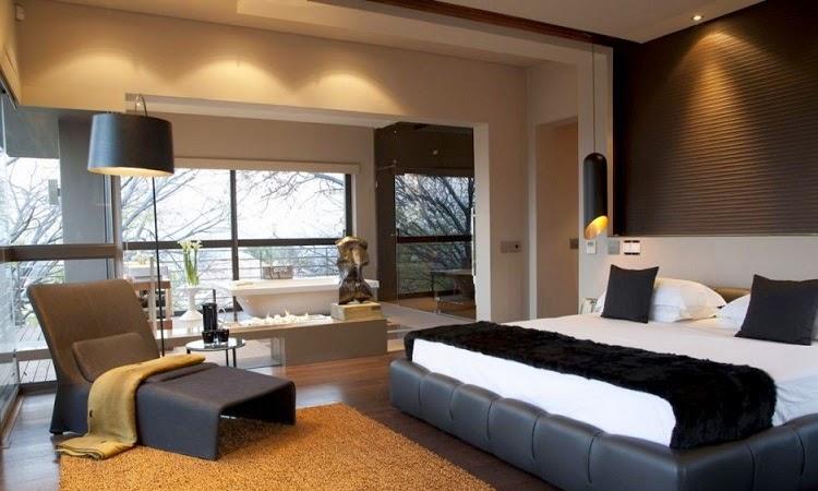 Arquitectura y lujo fusionados house in bryanston nico for Decoracion interior habitacion
