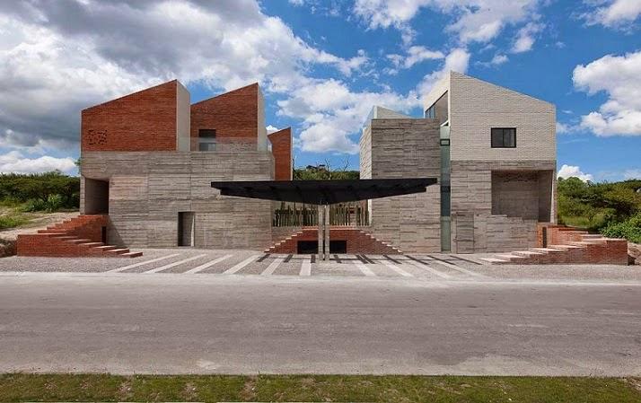 Datri y dasa casas dise adas por mavarq en m xico arquitexs for Casas modernas hormigon visto