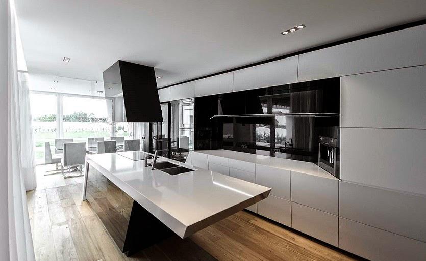 cocina-moderna-muebles-blancos-negros