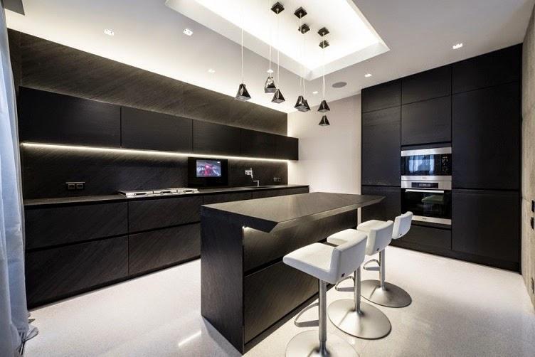 muebles-de-cocina-modernos-color-negro