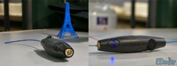 Bolígrafo 3doodler que Dibuja en 3D