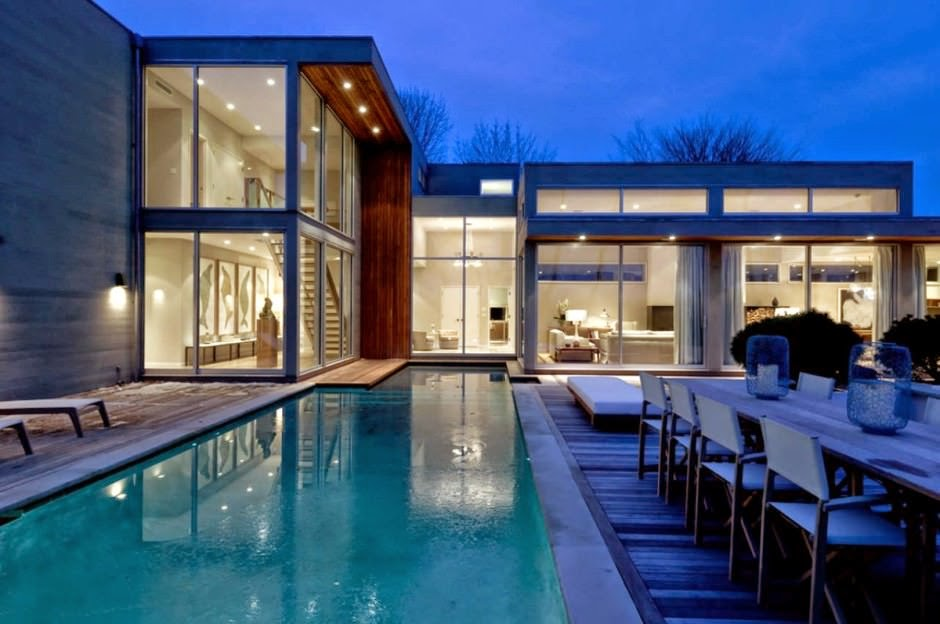 Fieldview house blaze makoid architecture east hampton for Casa moderna hampton hickory