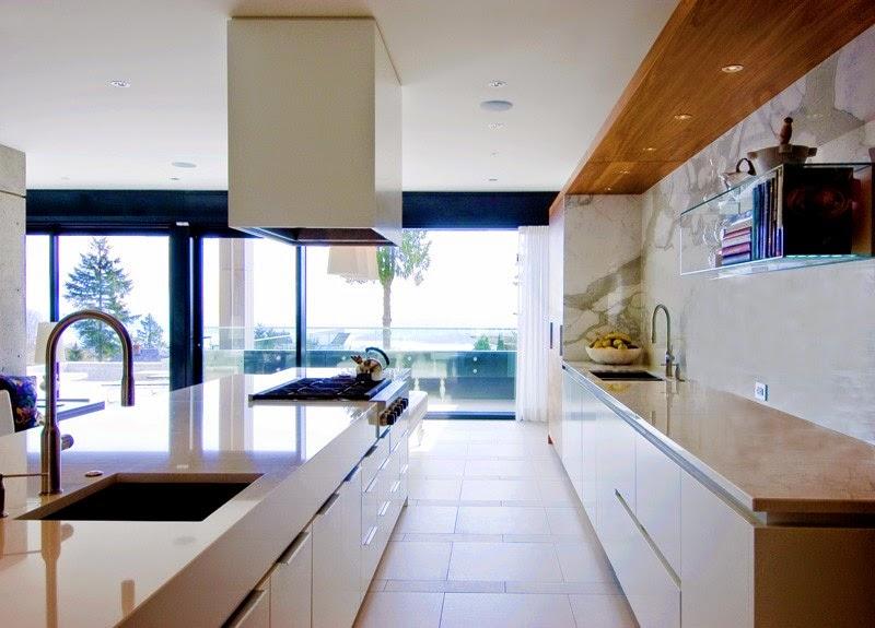 cocina-moderna-integrada-salon | ArQuitexs