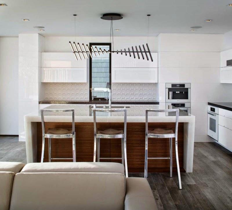 cocina-Casa-acantilado-Laguna-Beach-California