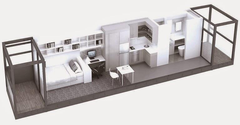 Tips de dise o para casas container arquitexs for Programa para distribuir una casa