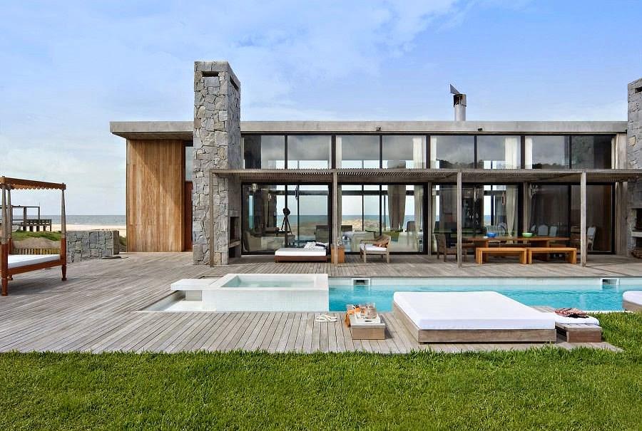 Casa la boyita estudio martin g mez arquitectos punta for Casa minimalista uy