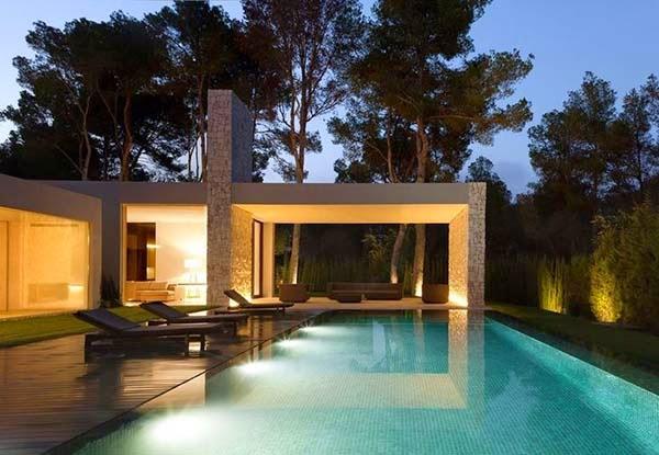 Casa el bosque de ram n esteve arquitexs for Casa con piscina urdaibai