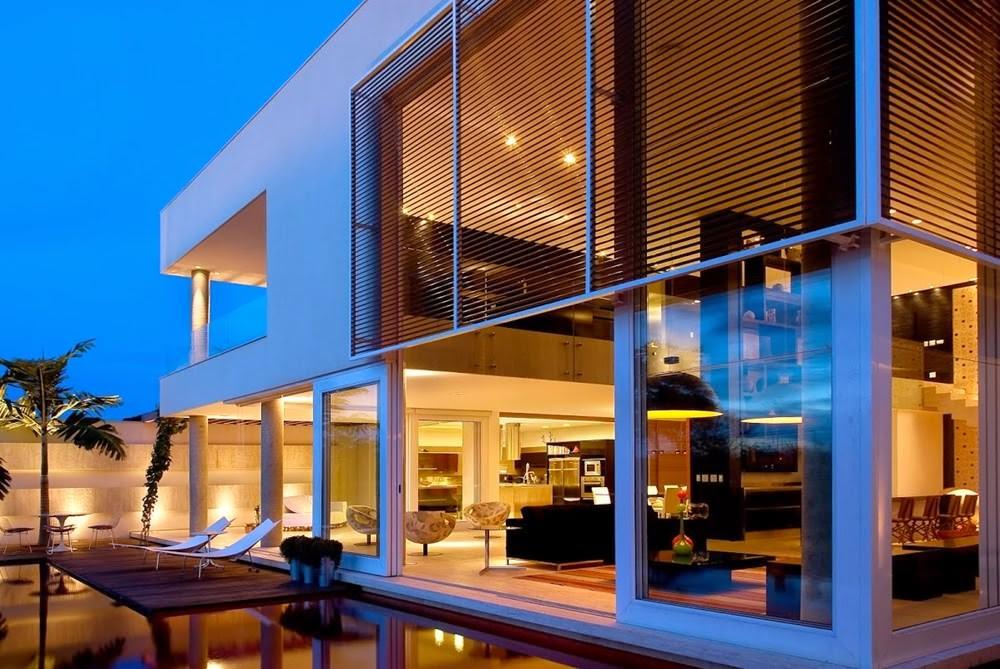 Casa capital architecture ney lima brasilia arquitexs for Casas modernas brasil