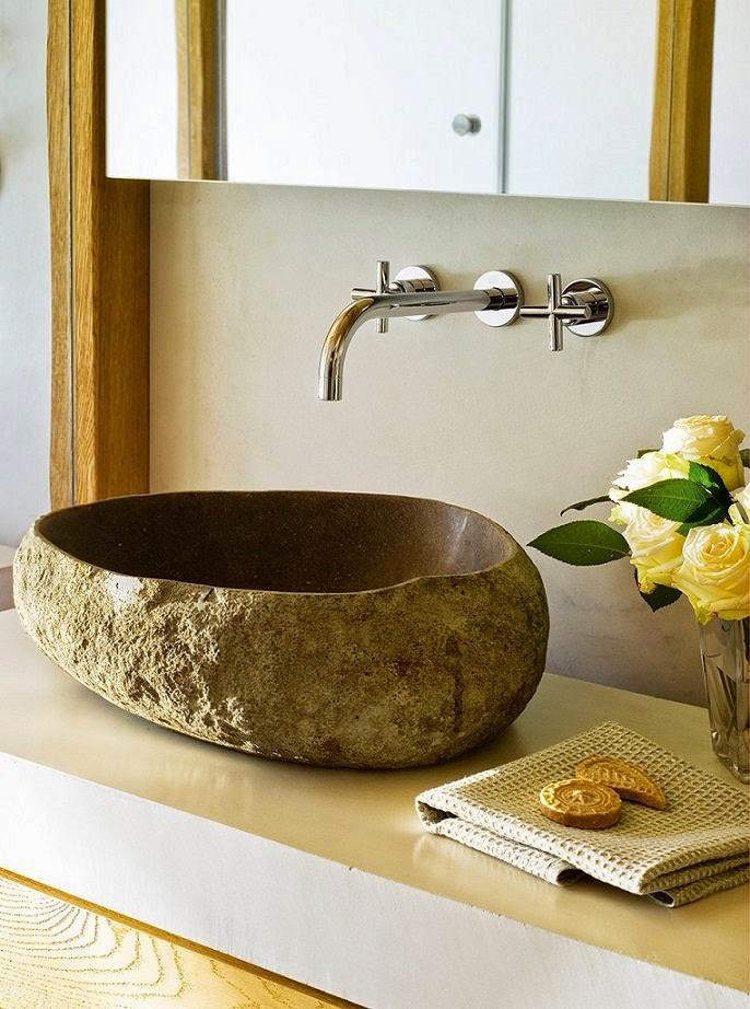 Consejos para que tu ba o se convierta en zona de confort - Lavabos de piedra ...