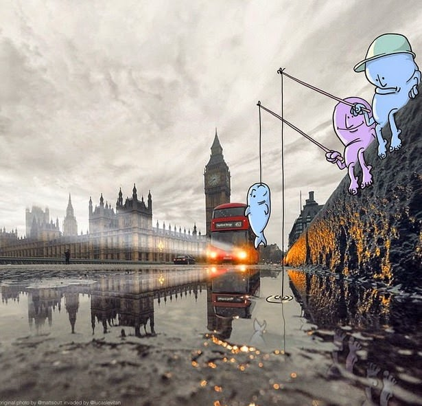 londres Photo Invasion Lucas Levitan