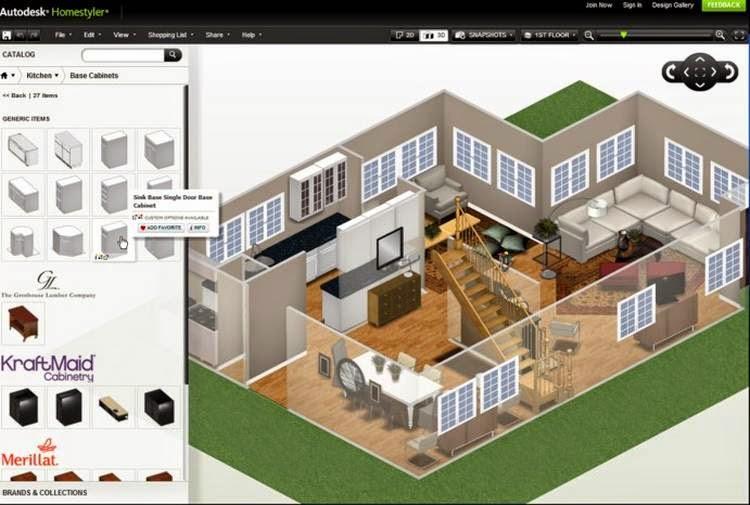 homestyler software gratuito que permite crear y ambientar