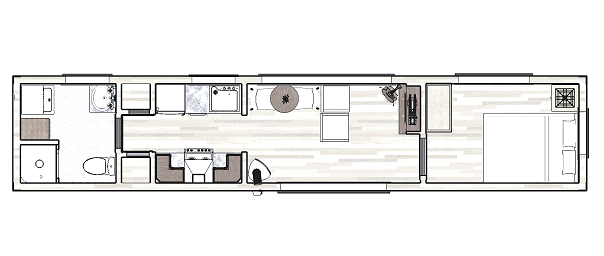 Tips de dise o para casas container arquitexs for Planos de casas alargadas