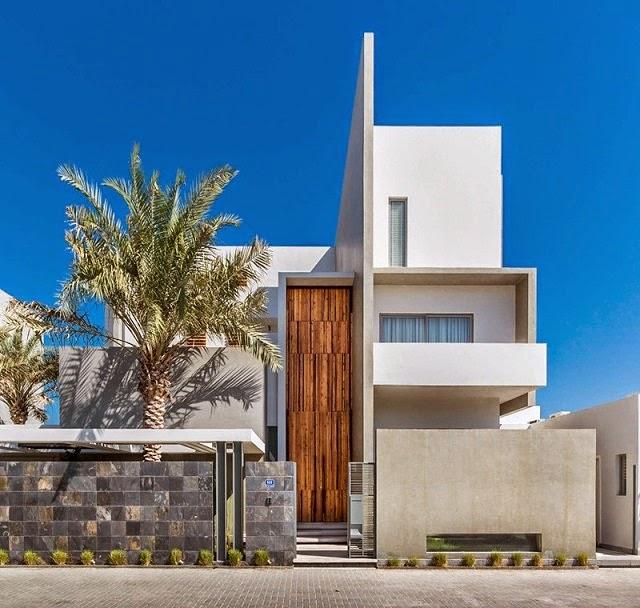 Villa amwaj una moderna casa minimalista en bahrein for Departamentos arquitectura moderna