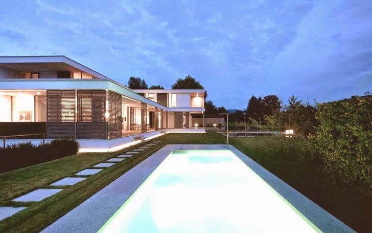 Casa SK reformada al estilo contemporáneo, Austria