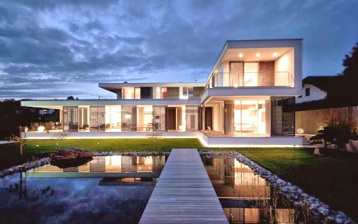Casa sk reformada al estilo contempor neo austria arquitexs for Casas modernas con piscina interior