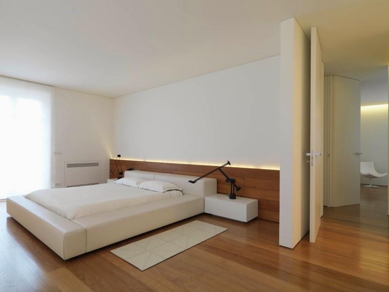 habitacion-Diseño y decoración Minimalista