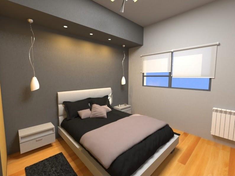 El minimalismo en una habitaci n est ndar arquitexs for Disenos de departamentos minimalistas