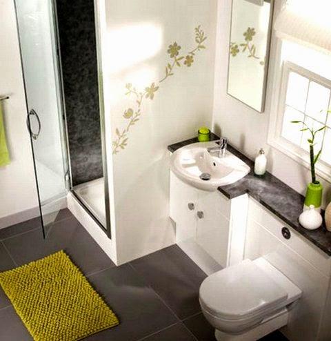 Baños modernos en espacios pequeños