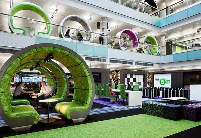 Consejos y dise os creativos para oficinas arquitexs for Fotos de despachos de lujo