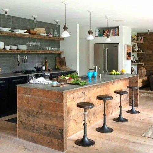 mueble-isla-cocina-rustico | ArQuitexs