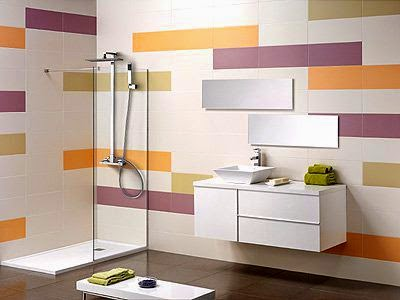 Ba os modernos en espacios peque os arquitexs - Revestimientos para duchas ...