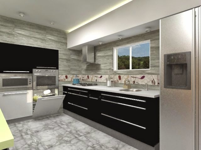 diseño-cocinas modernas y funcionales