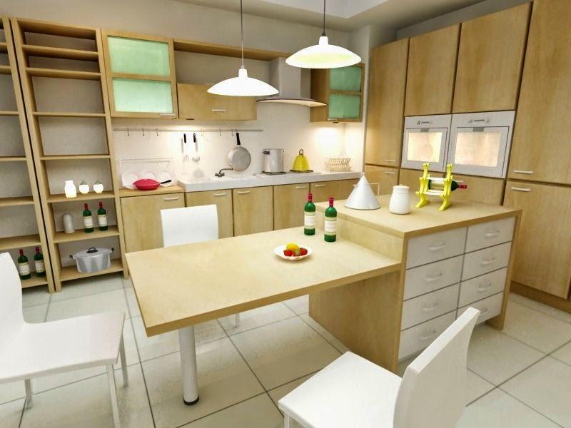 muebles-de-madera cocinas modernas y funcionales