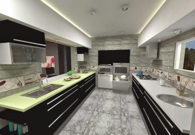 Dise o de interiores for Cocinas funcionales